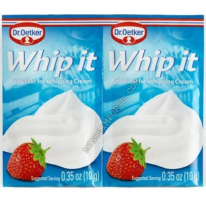 Whip It , Oetker 10g