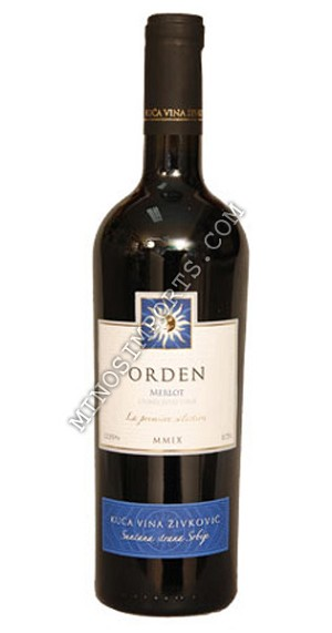 Orden merlot red wine 750ml