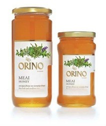 650g Pure Orino Mountain Honey Straight Jar