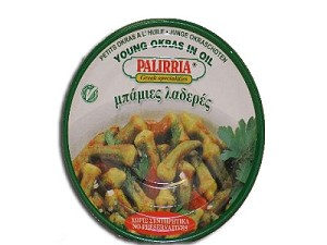 Okra in Tomato Sauce Young Baked 280g Palirria