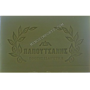 Pure Olive Oil Soap 250g bar by: Papoutsanis Imported from Greece