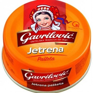 Pate Pork Pasteta Jetrena 100g Gavrilovic  (Pack of 2)