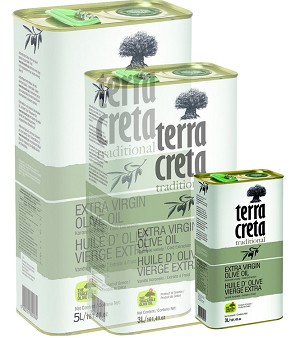 Terra Creta 1L CAN Traditional extra virgin olive oil