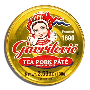 Pate Tea Pork 100g Gavrilovic