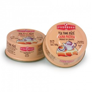 Pate Tea pate 100g 3.5oz Podravka (2 pack)