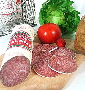 Teli Salami Hungarian Style 1lb  By: Bende