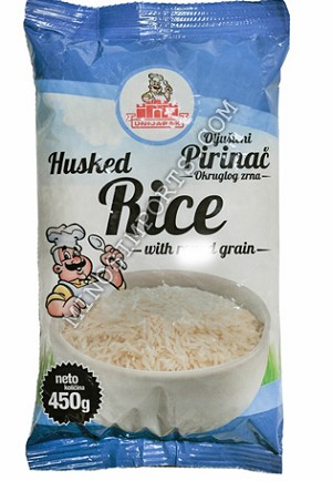 Rice with long grain 450g By Unijapak