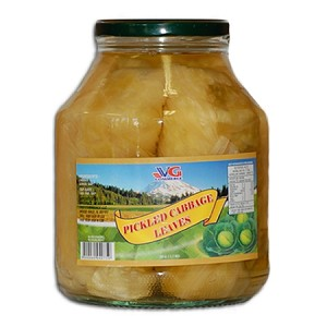 Cabbage Leaves Pickled 59oz VG Bulgaria