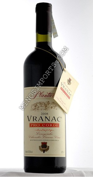 Plantaze Pro Corde dry red wine 750ml
