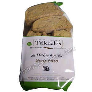 Tsiknakis Wheat Organic Bread Rusks 700g