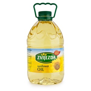 Sunflower Oil 3L By: Zvijezda
