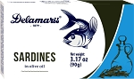 Delamaris Sardines in Olive Oil 90g