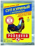 Chicken flavored noodle soup PODRAVKA 62g