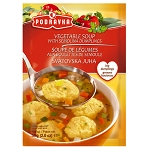Vegetable soup with semolina dumplings PODRAVKA 58g
